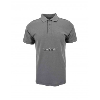 RIGHTWAY Unisex Men Women Cotton Polyester Soft Cotton Blend Polo Plain Tee CBP70 (W/GM/KG/B)(2XS-3XL)