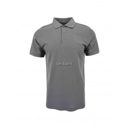 RIGHTWAY Unisex Men Women Cotton Polyester Soft Cotton Blend Polo Plain Tee CBP70 (E/GM/KG/B)(4XL-7XL)