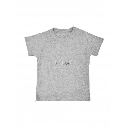 RIGHTWAY KidsUnisexCotton Soft Basic Round Neck T-Shirt RNY3 (W/GM/B)(22-32)(XS-2XL)(1/2Y-11/12Y)